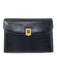 Gucci Navy Clutch
