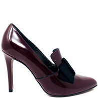 Lanvin Burgundy Heels
