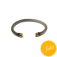David Yurman Pearl Cable Bracelet