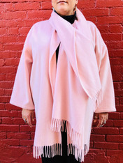 Ferragamo Cashmere Wrap Coat