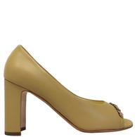 Chanel Beige Chain Heels