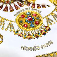 Hermès Parures des Sables Scarf