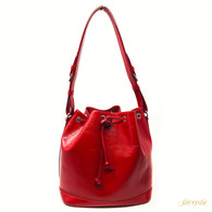 "Louis Vuitton Red Epi ""Noé"" Bag"