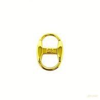 Gucci Gold Keychain