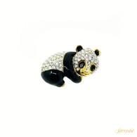 Ann Hand Panda Brooch