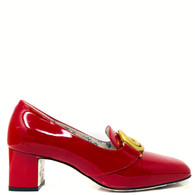 Gucci Red Victoire Loafers
