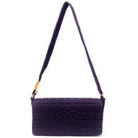 Chanel Plum Purse