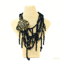 Alexis Bittar Fringed Torsade Necklace