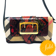 Burberry Patchwork Bag