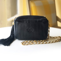 Chanel Navy Crossbody