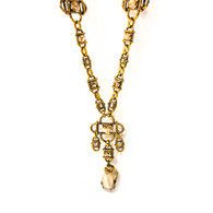 Oscar de la Renta Gold Necklace