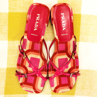 Prada Pink Sandals