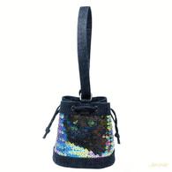 Chanel Sequin Bucket Bag