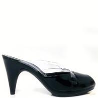 Robert Clergerie Black Patent Heels