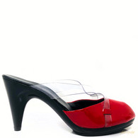 Robert Clergerie Red Patent Heels