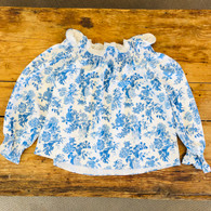 Tuckernuck Floral Blouse