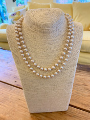 Private Listing Long Faux Pearl Necklace