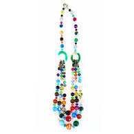 Private Listing Rainbow Glass Beaded Necklace