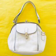 Marni White Leather Handbag