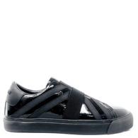 Burberry Black Patent Sneaker