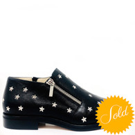Jimmy Choo Black Starry Shoes