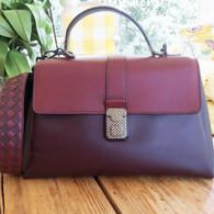 Bottega Veneta Burgundy Handbag