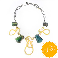 Alexis Bittar Iridescent Necklace
