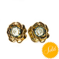 Tory Burch Floral Earrings