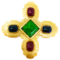 Chanel Cross Brooch