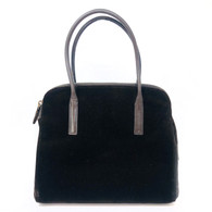 Prada Brown Velvet Handbag