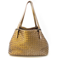 Bottega Veneta Bronze Purse