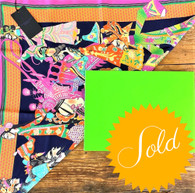 Private Listing Shanghi Tang Multi Silk Scarf
