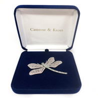 Camrose & Kross Dragonfly Brooch