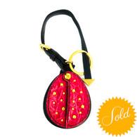 Prada Ladybug Keychain