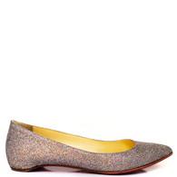 Louboutin Glitter Flats