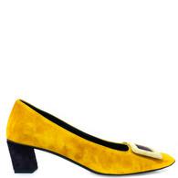 Roger Vivier Gold Heels
