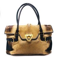 Ferragamo Fur Handbag