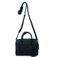MCM Black Boston Bag