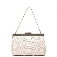 Badgley Mischka Snakeskin Clutch