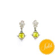 Judith Ripka Citrine Earrings