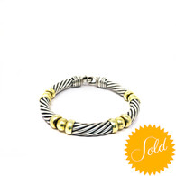 David Yurman Twist Bracelet