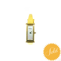 Gucci Gold Horsebit Watch