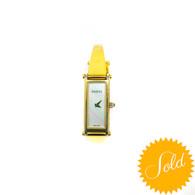 Gucci Gold Horsebit Watch