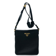 Prada Daino Black Crossbody