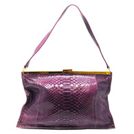 Devi Kroell Purple Handbag