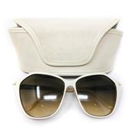 Tom Ford White Sunglasses