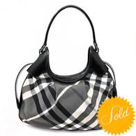 Burberry Plaid Handbag
