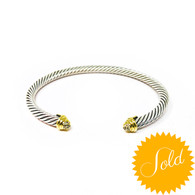 David Yurman Diamond Cable Bracelet