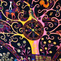 Hermès Peuple du Vent Shawl