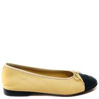 Chanel Beige Ballet Flats
